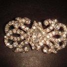 Bridal Vintage Style Rhinestone Brooch pin PI233