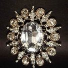 Bridal Bridesmaid Crystal Rhinestone Brooch pin PI142