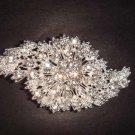 Bridal Cake topper dress Rhinestone Brooch pin PI234