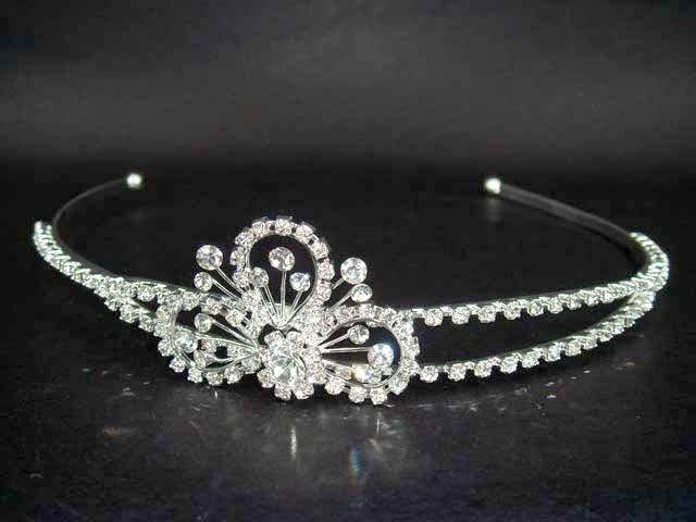 Bridal Wedding Crystal Rhinestone Headband Tiara HR05