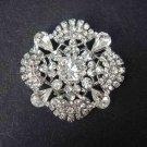 Bridal Crystal pendant Rhinestone Brooch pin PI427