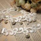 Gothic sexy faux pearl Lolita white bangle bracelet necklace choker NR255