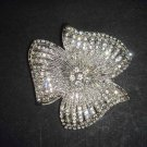 Bridal Flower cake topper Rhinestone Brooch pin PI493