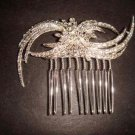 Bridal Rhinestone crystal Headpiece headdress Hair tiara Comb RB331