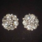 2 pc Bridal dress crystal repair sewing Rhinestone button BN2