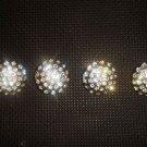 4 pcs Repair sew crystal Rhinestone repair dress button BN38