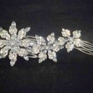 Bridal Crystal Rhinestone Bling Headpiece Headwear Hair tiara Comb RB377