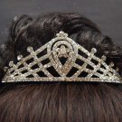 Bridal Rhinestone cystal Headpiece headwear hair crown tiara comb HR157
