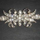 Bridal Dress cake scarf decoration Rhinestone Brooch pin PI449