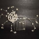 Bridal Rhinestone Crystal Headwear  Headpiece Headdress Hair tiara Comb RB202