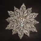 Bridal dress Vintage style crystal Rhinestone Brooch pin PI278