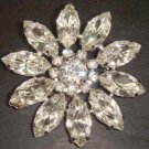 Bridal Crystal Vintage style Rhinestone Brooch pin PI77