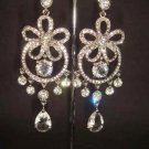 Bridal Chandelier bling Dangle crystal Rhinestone Earring ER181