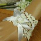 Sexy Lolita Rhinestone rose flower bead bow gothic ribbon Bracelet BR275