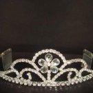 Bridal Crystal Rhinestone tiara Headband comb HR123