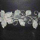 Wedding Bridal crystal Flower Rhinestone Hair Headdress tiara Comb RB597