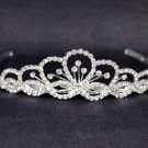 Bridal Rhinestone Crystal Prom headdress Headpiece crown Hair tiara HR190