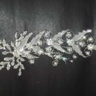 Bridal Rhinestone Flower Crystal Headpiece Headdress Hair tiara Comb RB374
