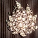 Bridal Crystal Vintage style cake topper Rhinestone Brooch pin PI25