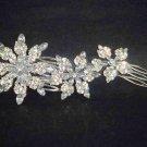 Bridal Rhinestone Headpiece Headdress crystal Crown Hair tiara Comb RB377