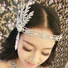 Bridal Rhinestone Crystal Prom Great Gatsby inspire Victorical crown tiara HR262
