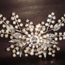 Bridal Dress Vintage style Czech Crystal Rhinestone Brooch pin PI228