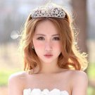 Crystal Rhinestone Wedding Crown Pageant Prom Princess Tiara Jewelry HR297