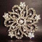 Bridal Classic Czech crystal Rhinestone Brooch pin PI133