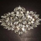 Bridal Dress Corsage Czech Rhinestone Brooch pin Pi316