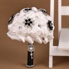 21 cm HANDMADE Wedding Brooch Bouquet Artificial Flower Faux pearl Posy WB09
