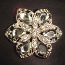 Bridal Vintage Style Corsage Czech Rhinestone Brooch pin PI222