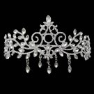 Wedding Austrian Rhinestone crystal queen crown Flower Princess Prom Tiara HR332