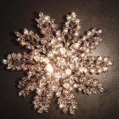 Bridal dress Corsage Czech Rhinestone Brooch pin PI340