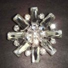 Bridal Vintage Style Corsage Czech Rhinestone Brooch pin Pi210