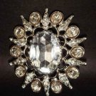 Bridal Bridesmaid Corsage Crystal Rhinestone Brooch pin PI142
