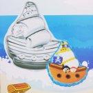 "11 X9""  Aluminum alloy Pirates ship Birthday cake baking Pan Jello Mold BM08"