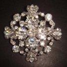 Bridal Vintage Style Corsage Czech  Rhinestone crystal Brooch pin PI127