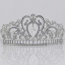 Bridal Gorgeous Clear Rhinestone crystal Queen Pageant Prom crown Tiara HR298