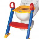 Potty Training Toddler Seat Step Toilet Chair Ladder Folding Kid Home School HB4