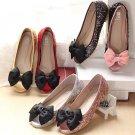 2 pcs Bow prom Gray black pink blue tone Repair Shoe bag Clips Charm SA39