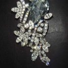 Bridal dress sacrf cake decoration vintage style Rhinestone Brooch pin Pi295