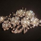 Bridal dress Dress scarf decoration Vintage style Rhinestone Brooch pin PI372