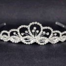 Bridal Rhinestone Crystal Prom princess head Headpiece crown Hair tiara HR190