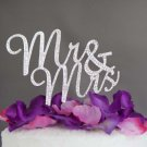 Bridal Mr Mrs Rhinestone Wedding Birthday Party Anniversary Cake Topper BM26
