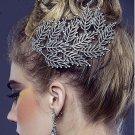 Bridal Rhinestone Crystal prom dance Leave headpiece Headwear Hair Comb RB678