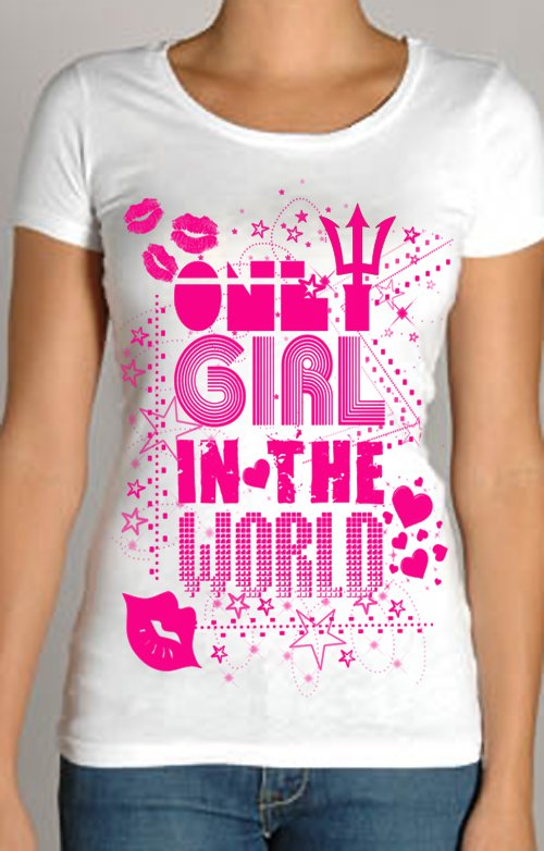 Only Girl In The World Baby Tee