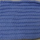 Knitted Serviette Pattern: Purl Stripes