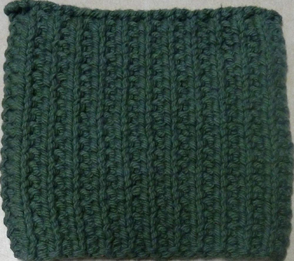 Knitted Serviette Pattern: Sensational Textures