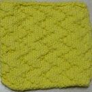 Knitted Serviette Pattern: Zany Zigzags