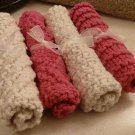 Pink and Beige Slightly Damaged Serviettes